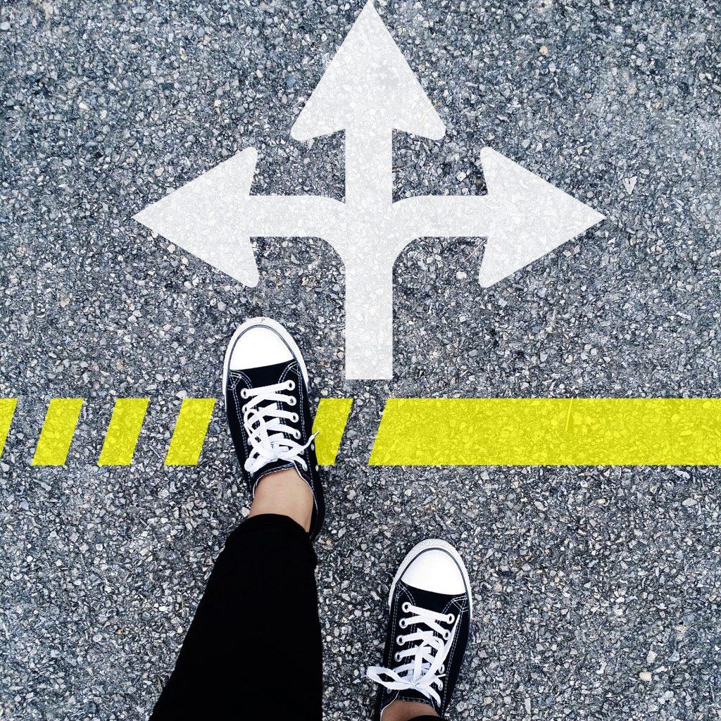 Wähle den richtigen Weg